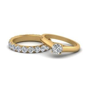 Classic Diamond Bridal Ring Set