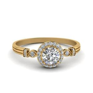 Perfect Match ( Antique Custom Curved Diamond Band )