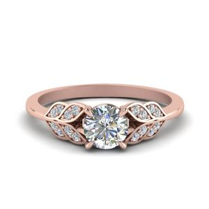 Round Cut Vintage Engagement Rings