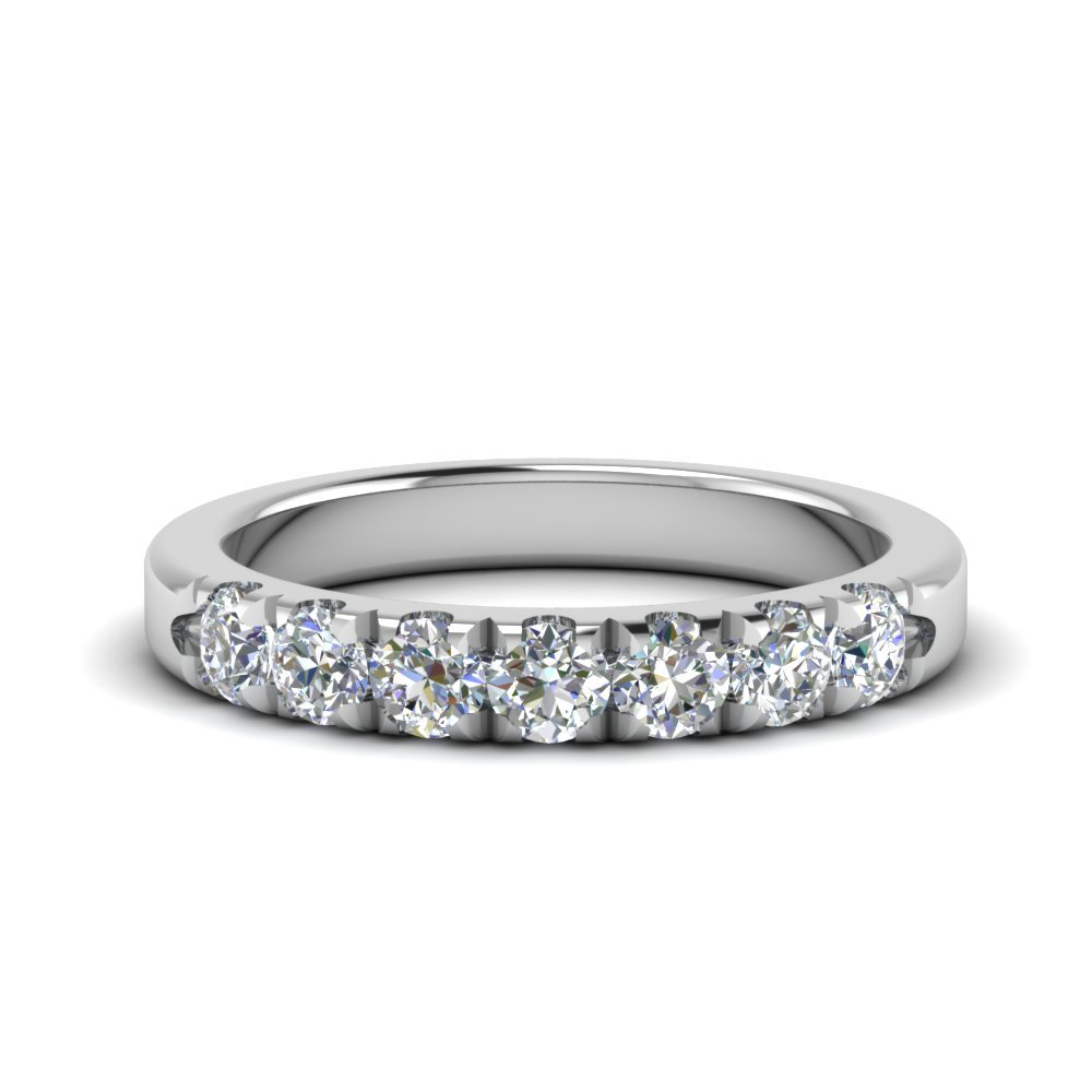 0.50 Ct. Round Diamond Anniversary Band