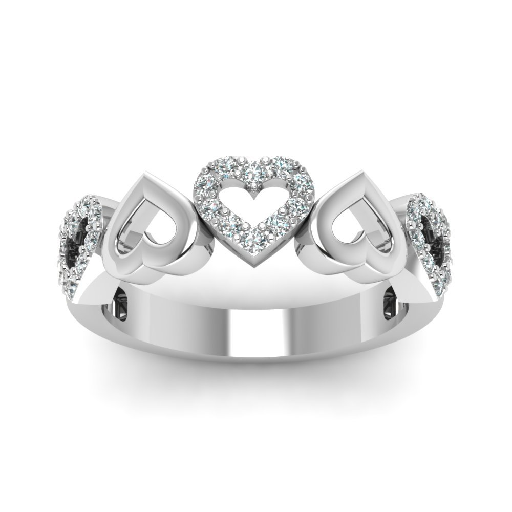 Anniversary Diamond Love Band
