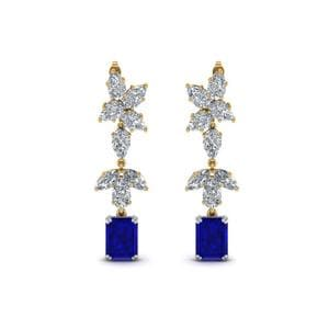 Mom Cluster Diamond Earring
