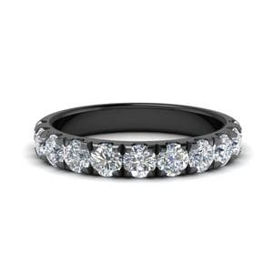 Scalloped 1 Ct. Diamond Wedding Band