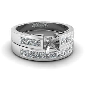 Wedding Ring Setting Only