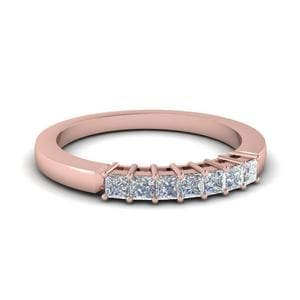 0.35 Ct. Septet Princess Wedding Band