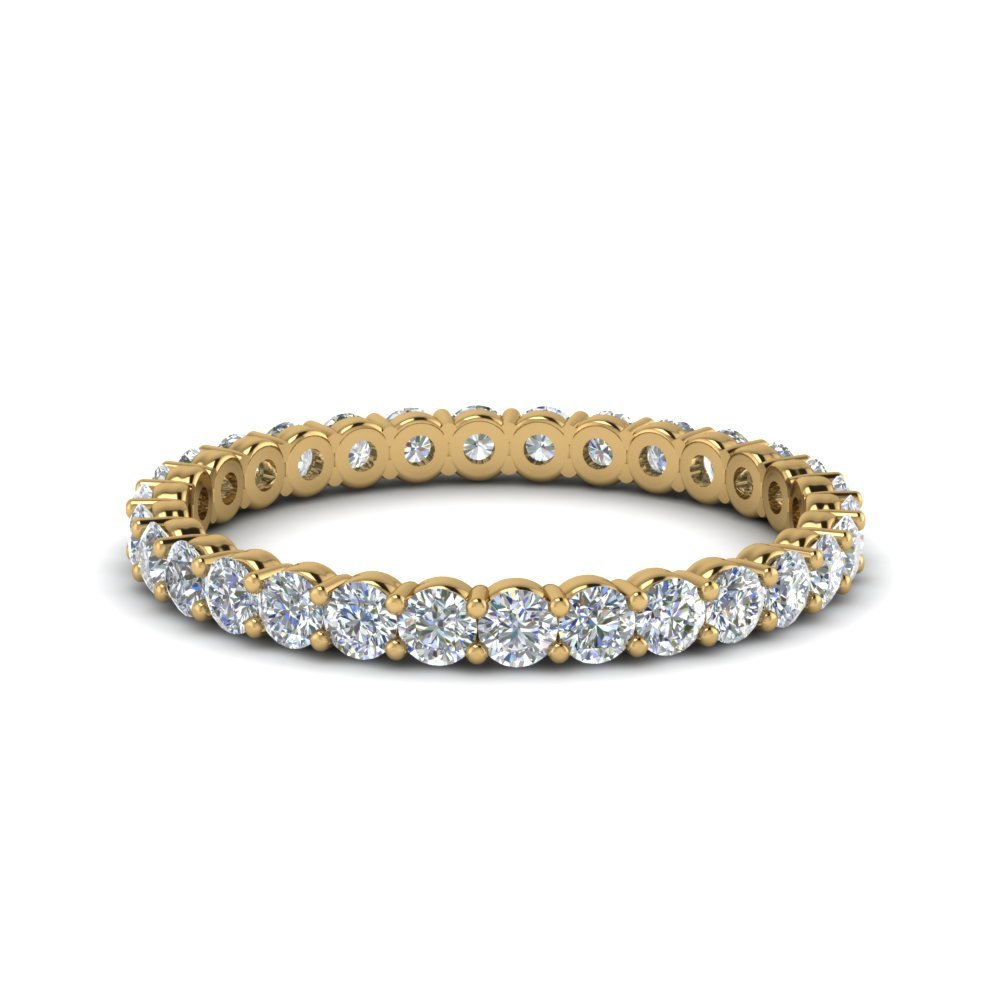 Shared Prong 0.75 ct. Round<br> Eternity Band