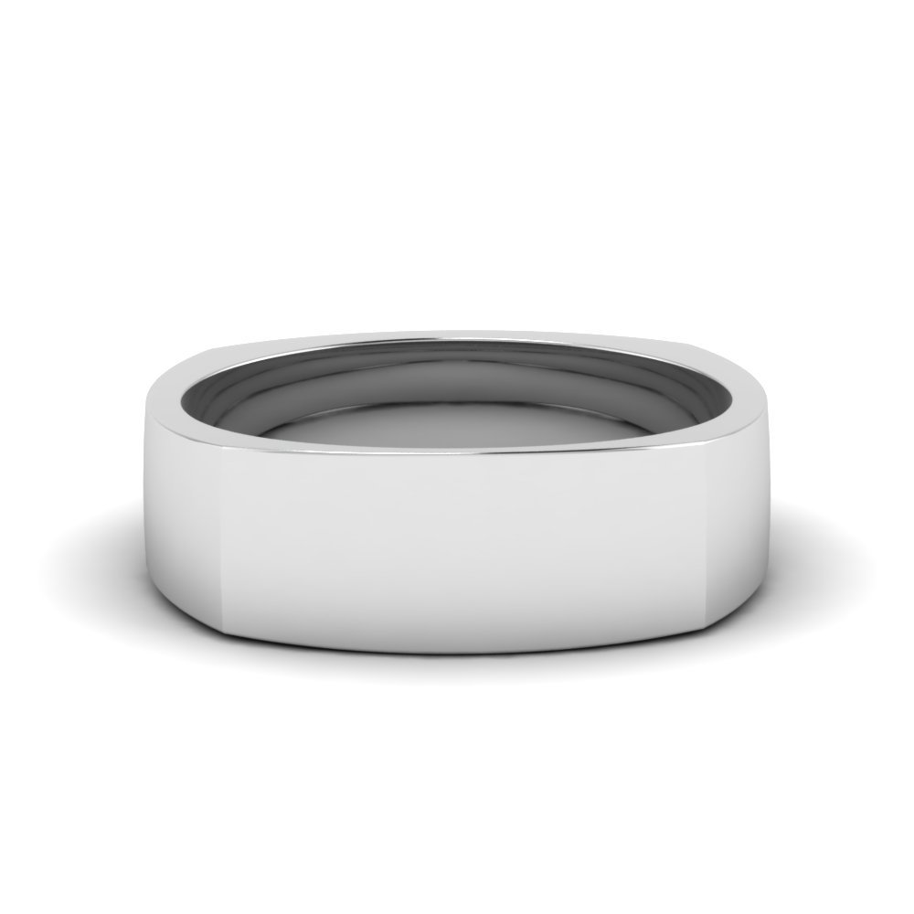 Square 8 Mm Male Promise Ring