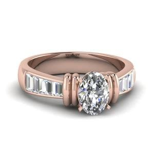 Tapered 1.50 Carat Baguette Diamond Ring