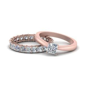 Tapered Princess Cut Eternity Set