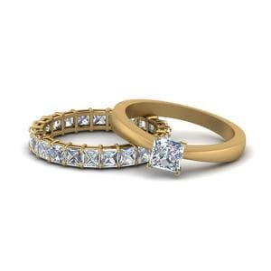 Tapered Solitaire Eternity Set