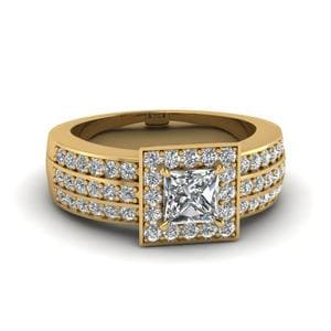 1.50 Ct. Princess Cut Ring