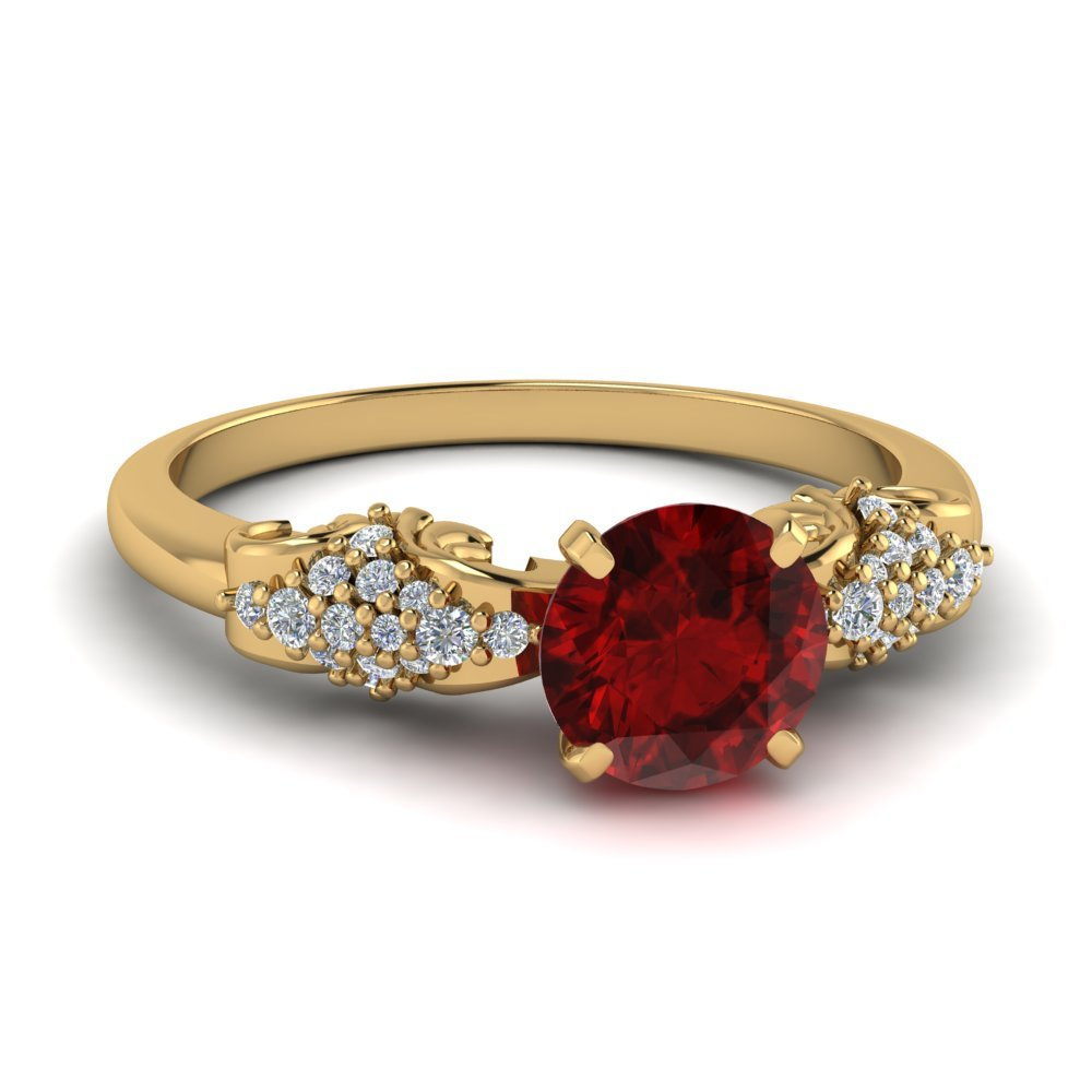 Ruby Jewelry For Womens