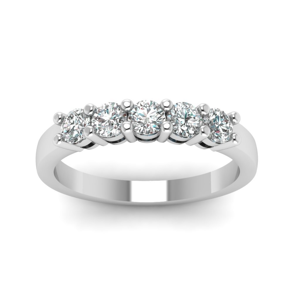 2.5 Carat Five Stone Diamond Ring