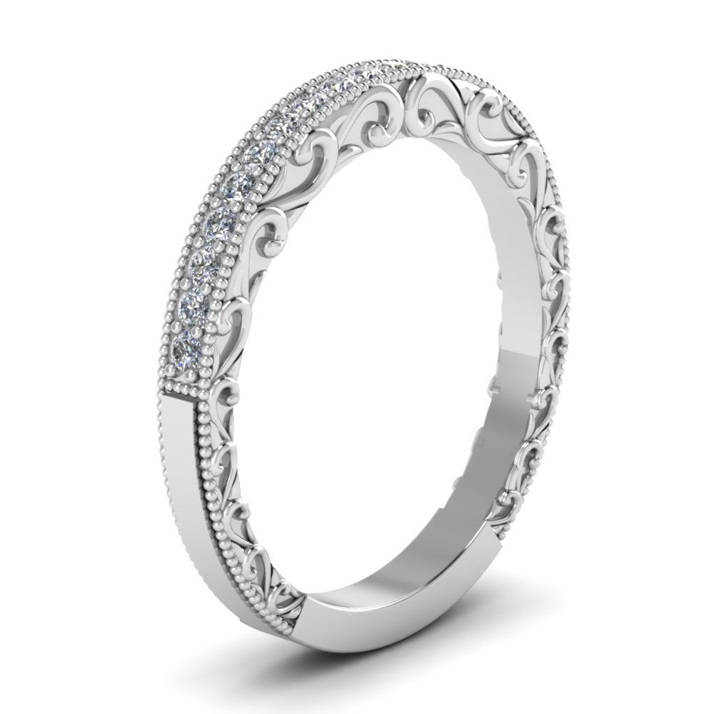 Milgrain Filigree Band