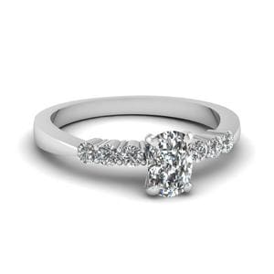 Tapered 7 Stone Diamond Ring