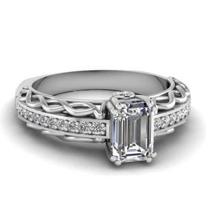 Euro Shank Diamond Ring