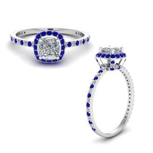 Petite Band Sapphire Ring