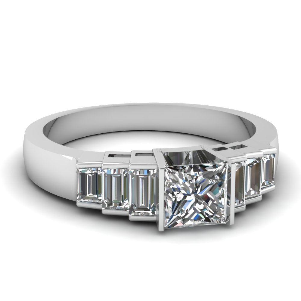 Art Deco Engagement Rings Fascinating Diamonds