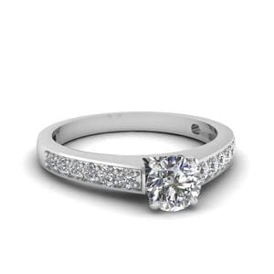 Perfect Match (Pave Wedding Diamond Band)