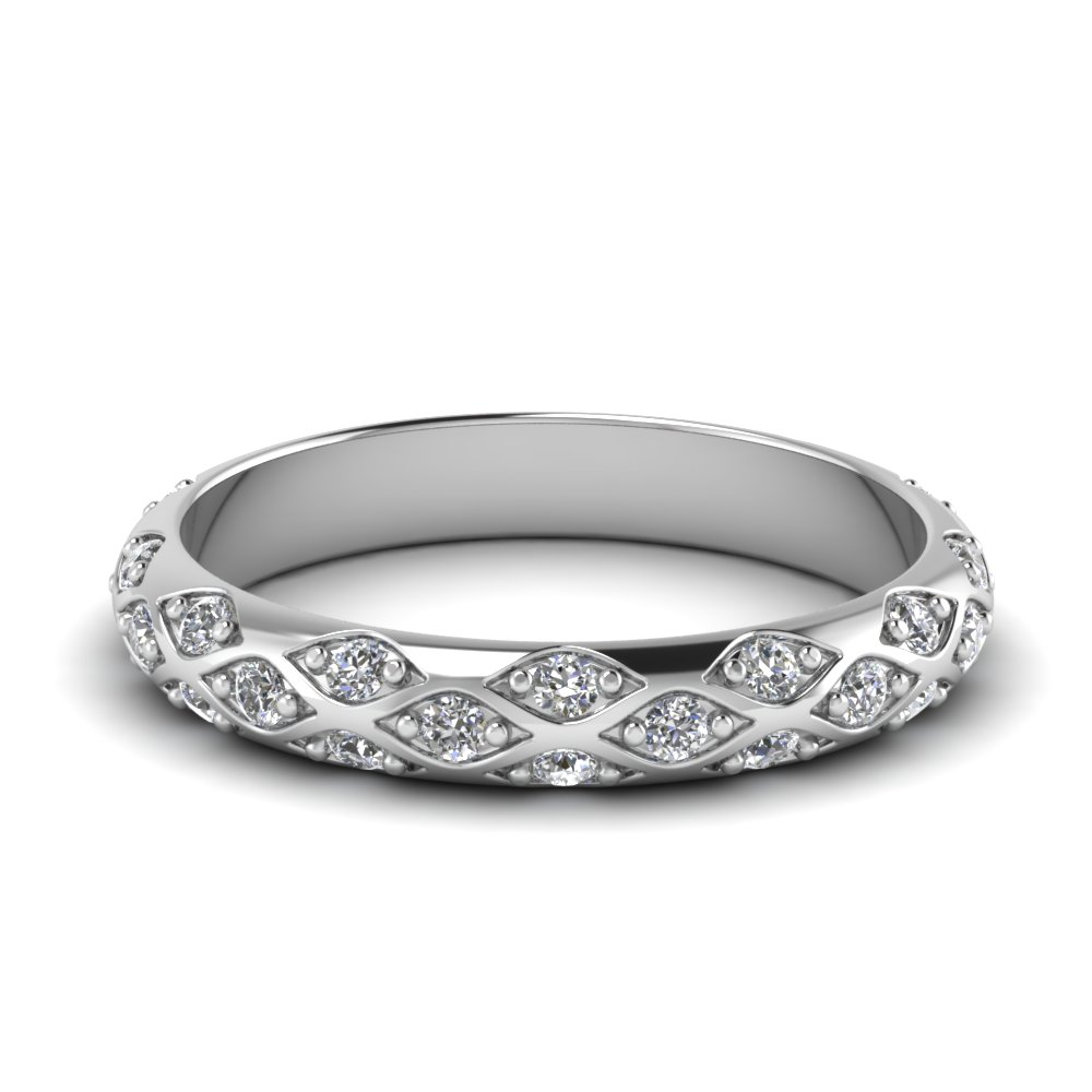 Diamond Anniversary Band For Women