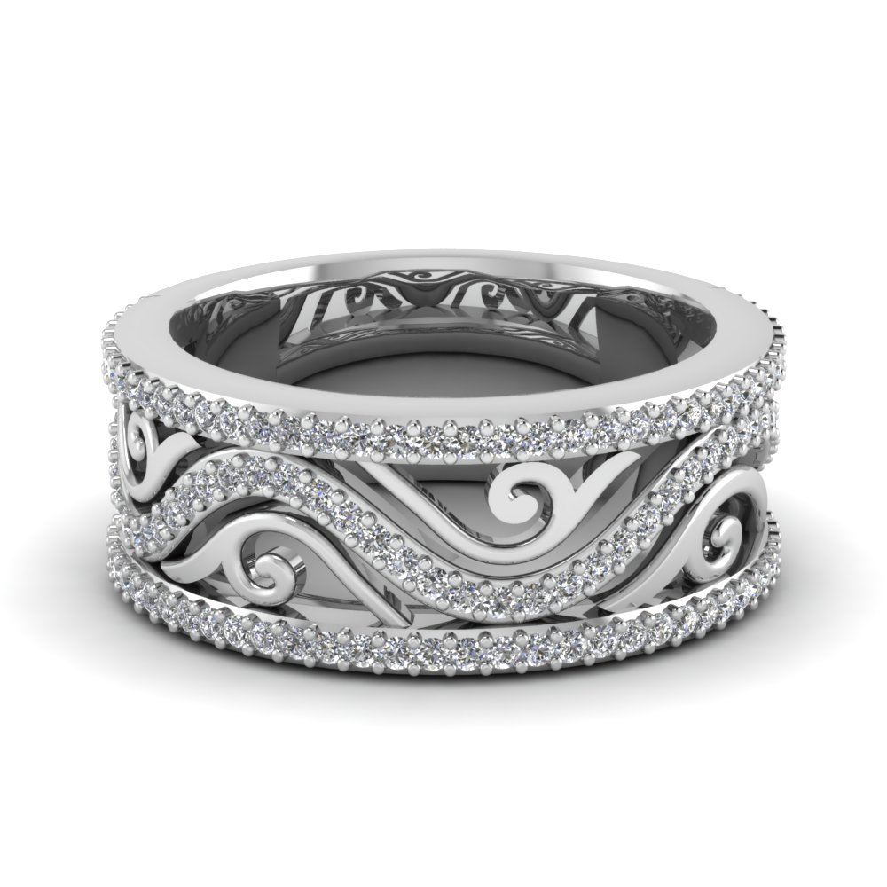 Antique Women Diamond Band