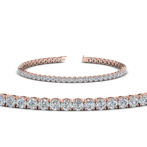 Womens Diamond Tennis Bracelet (5 Carat)