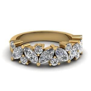 2 Ctw. Marquise Diamond Ring
