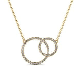 Together Forever Circle Necklace
