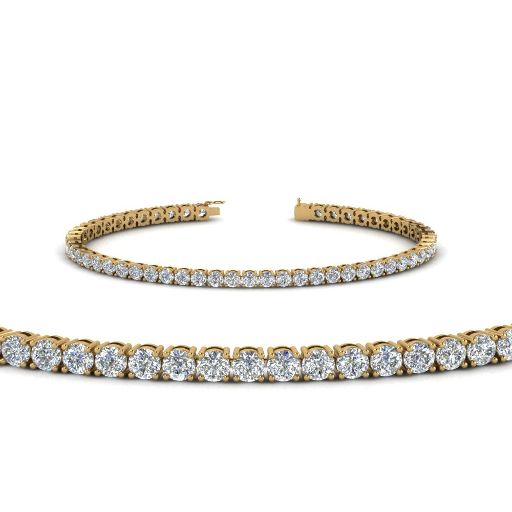 Tennis Diamond mothers Bracelet (4 Carat)
