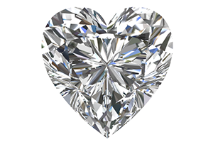 Heart Cut Moissanites