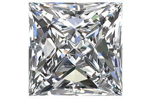 Princess Cut Moissanites