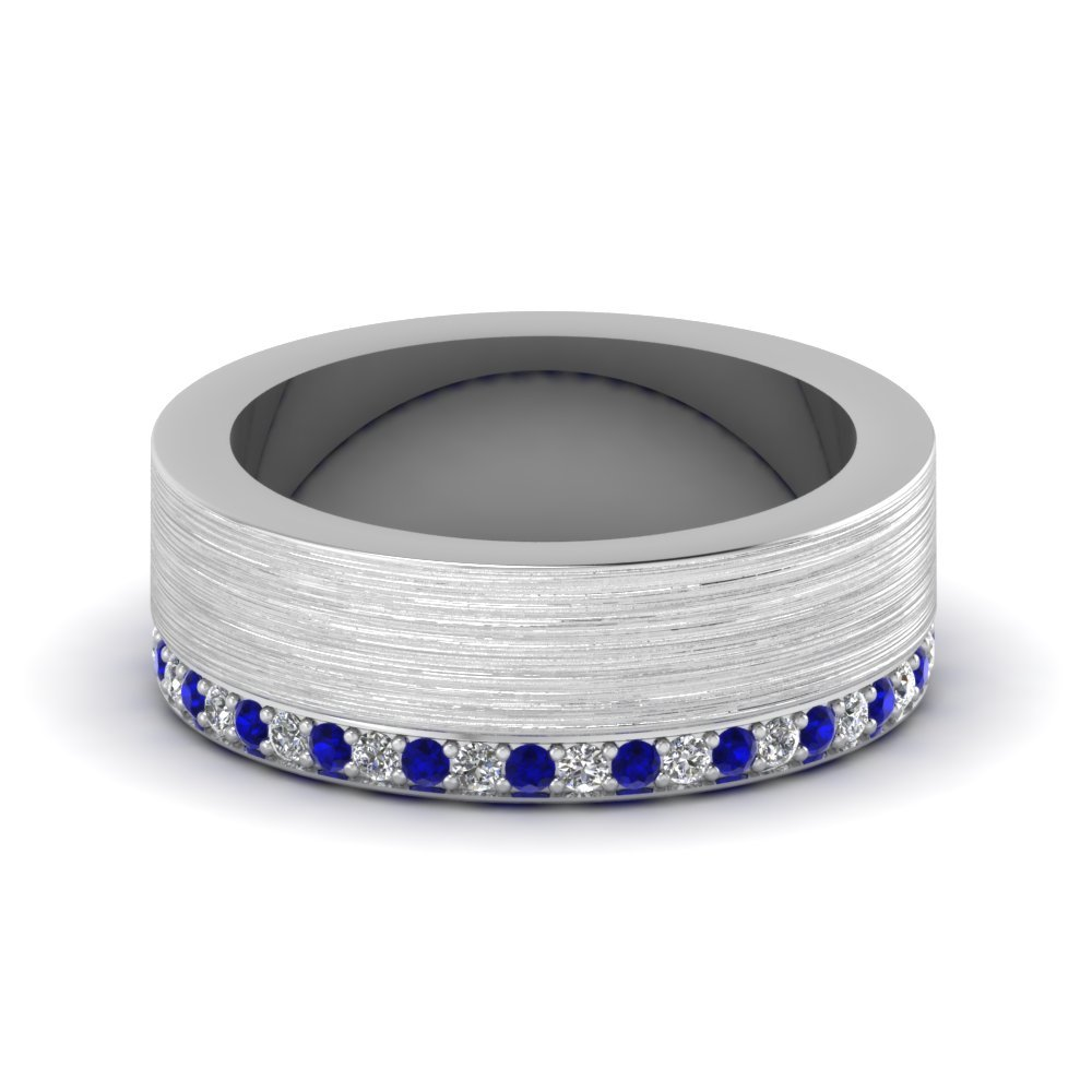 Popular Platinum Mens Wedding Band